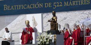 Beatificación de 522 mártires en Tarragona el 13 de octubre de 2013.