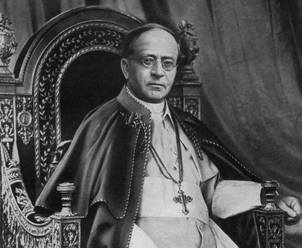 Pío XI: Los mártires son de Dios, no del bando nacional El papa Pío XI aclara que los mártires son de Dios y habla de cuatro bandos en la Guerra Civil Española, en su mensaje del 14 de septiembre de 1936