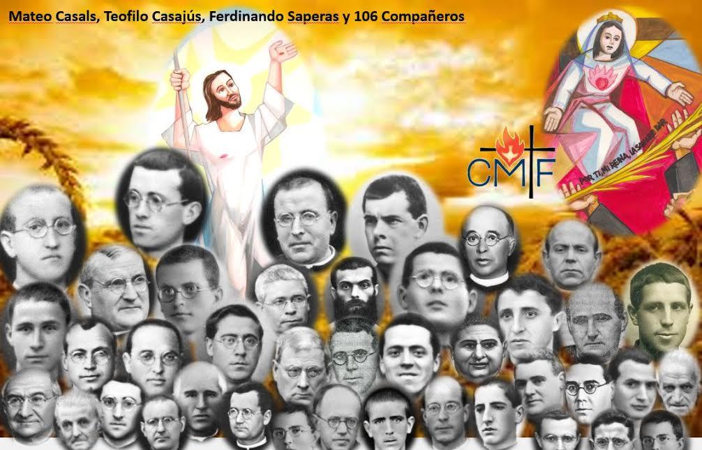 109 claretianos beatificados en Barcelona.