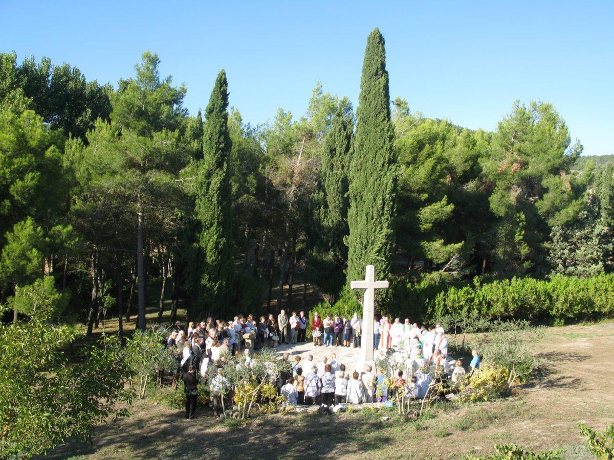 Sant Pere dels Arquells, donde fusilaron y quemaron a 18 claretianos.