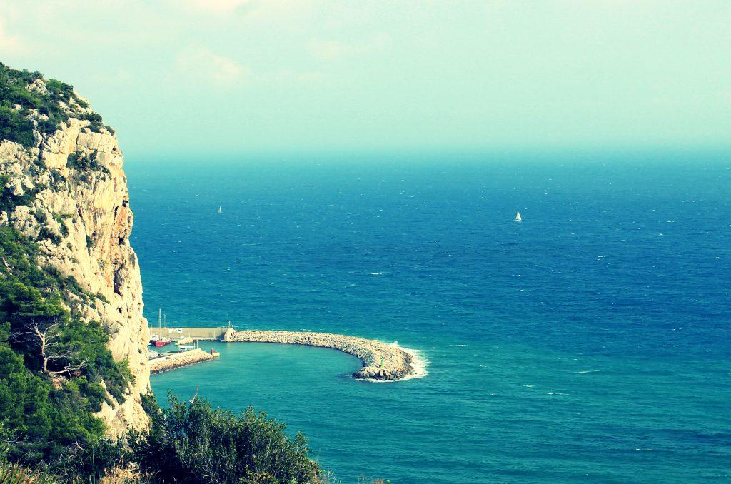 Paso de la Mala Dona, donde arrojaron al mar al beato Pedro Tomás.