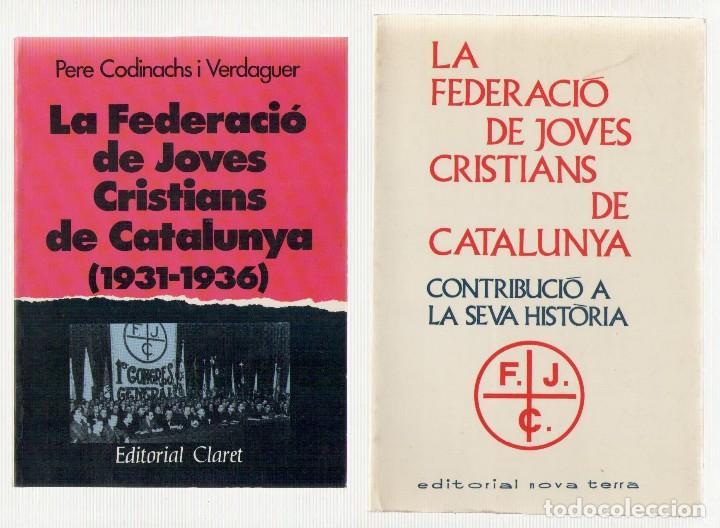 Josep Colom fundó la Federación de Jóvenes Cristianos de Cataluña.