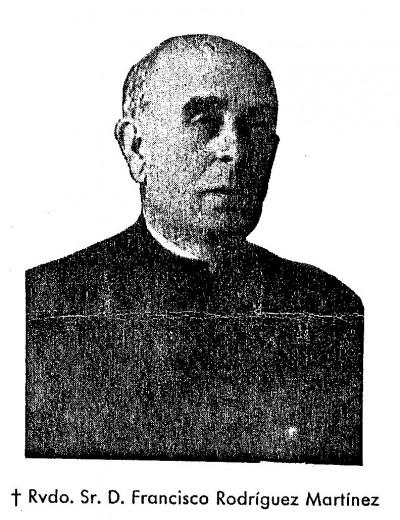 Beato Francisco Rodríguez.