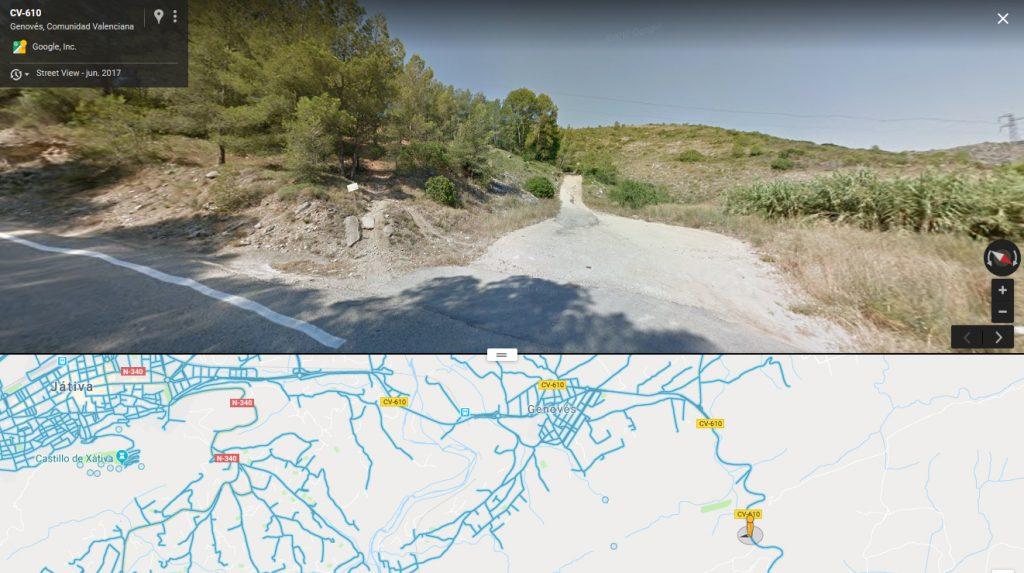 Itinerario martirial del beato José María Segura desde Játiva al puerto de Benigánim.
