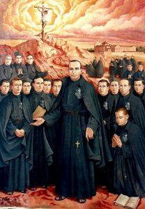 Los pasionistas de Daimiel, beatificados en 1989.