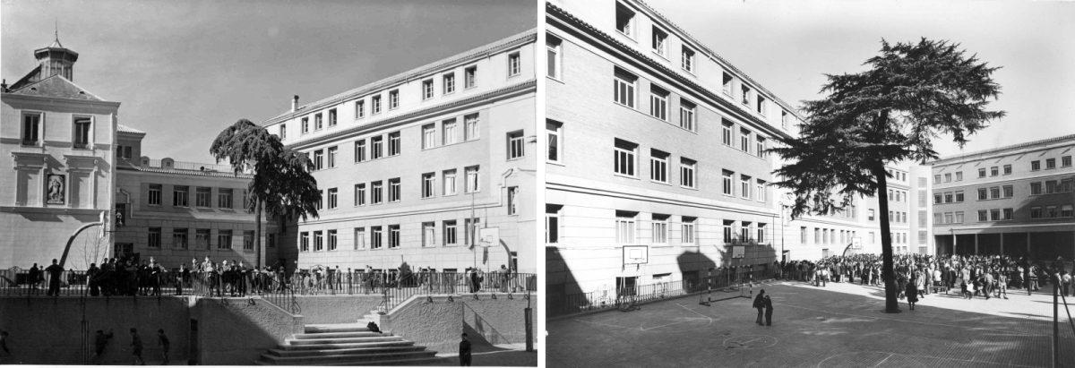 Antiguo colegio de Maristas de Chamberí (1923-1942).