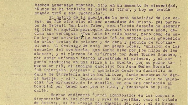 """<span class=""""entry-title-primary"""">Málaga: Otro cura al que quemaron vivo</span> <span class=""""entry-subtitle"""">Entre los ocho mártires nacidos un 9 de febrero se cuenta, en Málaga, un salesiano cura al que quemaron vivo tras fusilarlo</span>"""