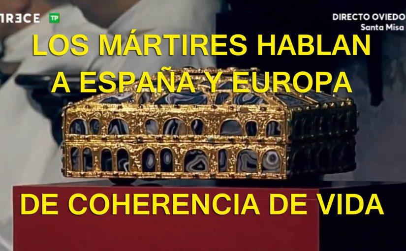 """<span class=""""entry-title-primary"""">Los mártires engrandecen a la Iglesia y dan esplendor al sacerdocio</span> <span class=""""entry-subtitle"""">Beatificación de seminaristas mártires en Oviedo y aniversario del nacimiento de uno de los mártires de Turón, el pasionista san Inocencio de la Inmaculada</span>"""