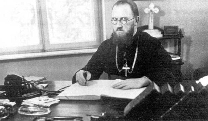 Vasile Aftenie, primer obispo católico mártir en Rumanía (10 de mayo de 1950).
