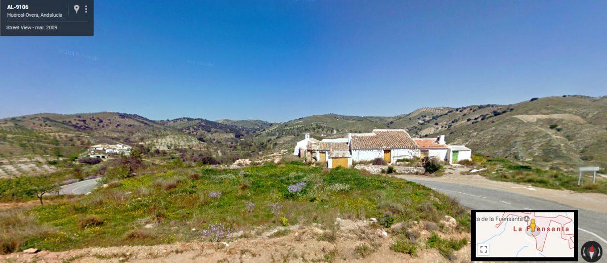 Barrio y ermita de la Fuensanta en Huércal-Overa, Almería.