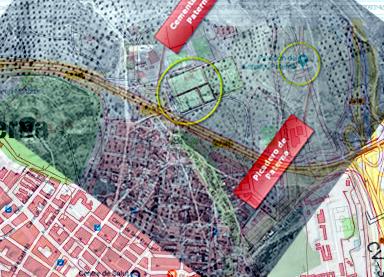 El lugar de fusilamiento apodado durante la guerra Picadero recibe hoy el nombre de Paredón de España.