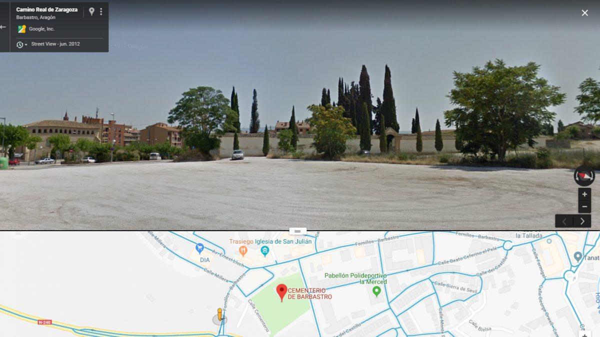 Cementerio de Barbastro.